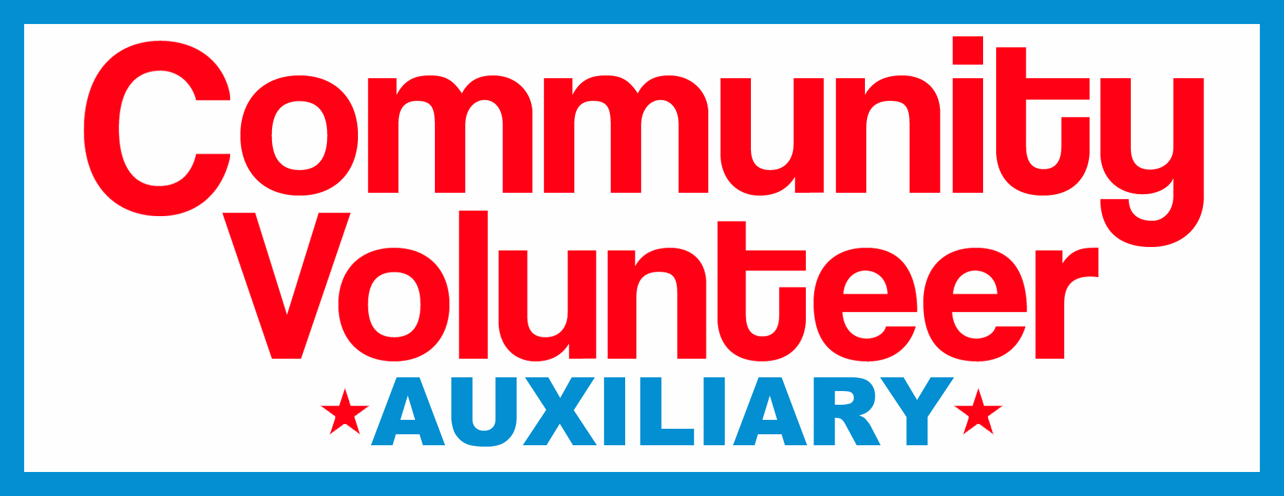 COMMUNITY VOLUNTEER AUXILIARY